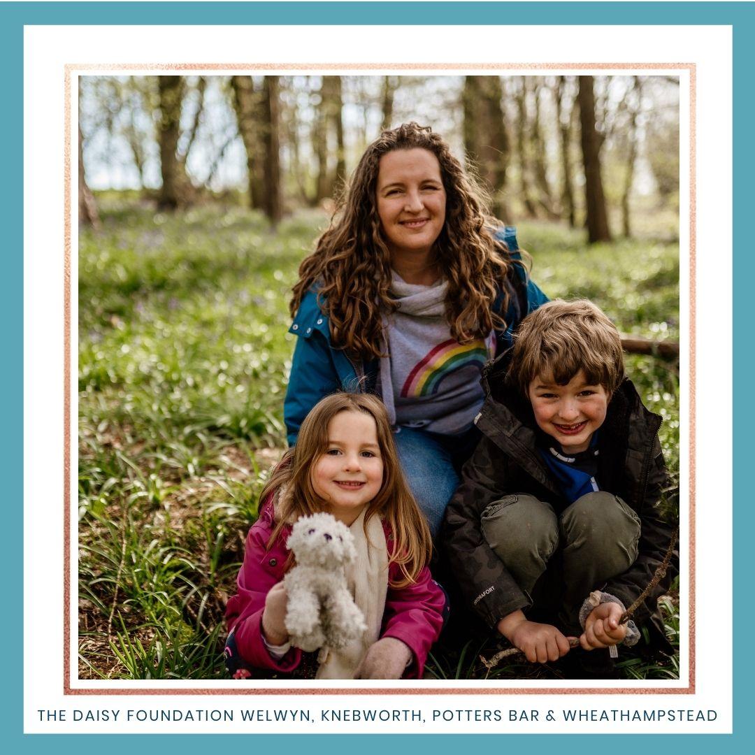 Family enjoying fresh air in Welwyn Garden City. Best parks and woods in Welwyn Garden City