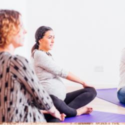 pregnancy yoga antenatal class in Buckingham