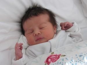 Daisy mum Lesley baby photo