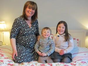 Daisy mum Lesley family photo